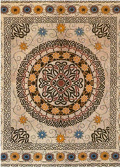 Classic Celtic Tapestry (Orange)