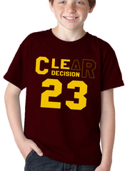 CLEar Decision #23 Lebron Cleveland  Kid's T-Shirt