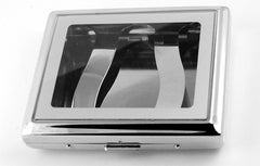 Clear See Thru Window Cigarette Case (For Regular Size Only)