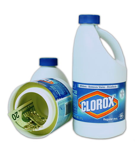 Clorox Bleach Large 55oz Bottle Diversion Safe