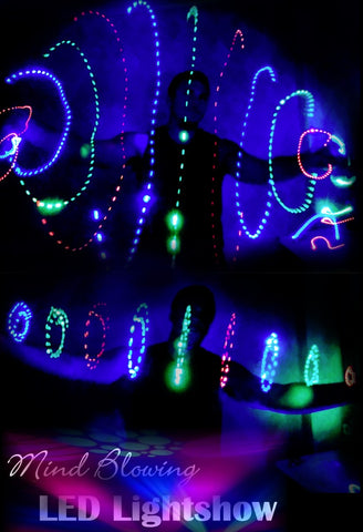 Club Toy Of the Year! Galactic LED Light Storm Wire