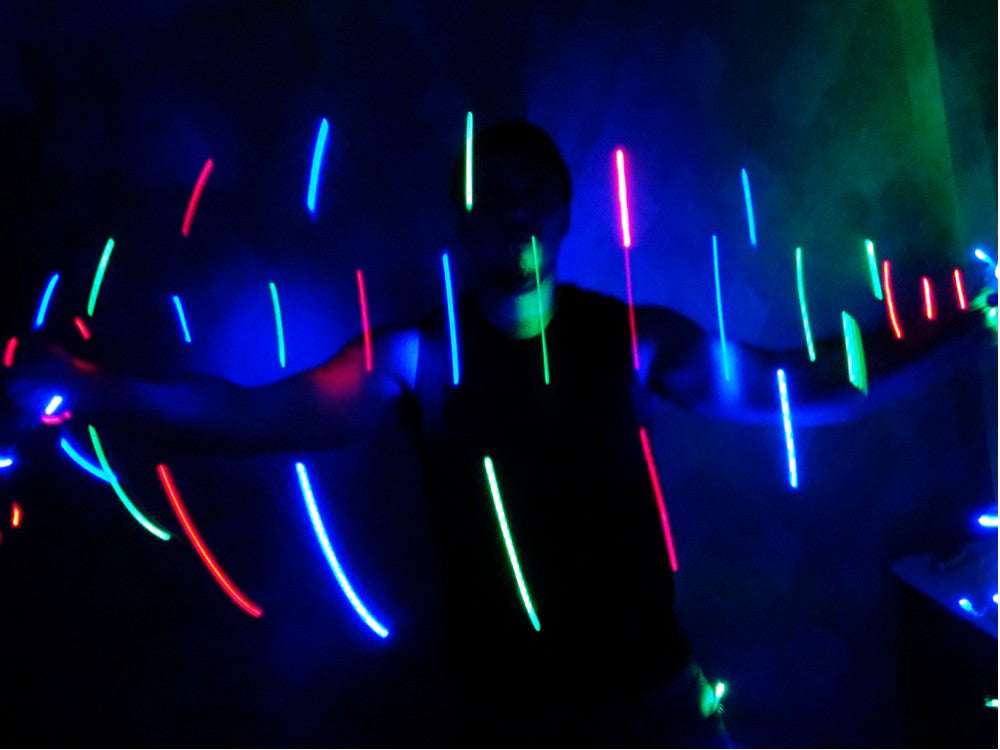 Galactic LED Light Storm Wire