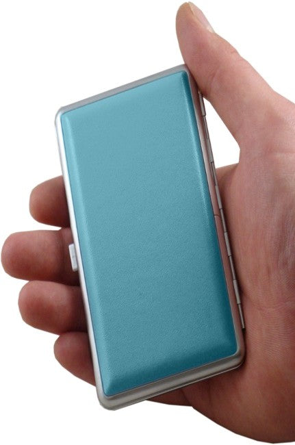 Contemporary Leather Cigarette Case With Hand