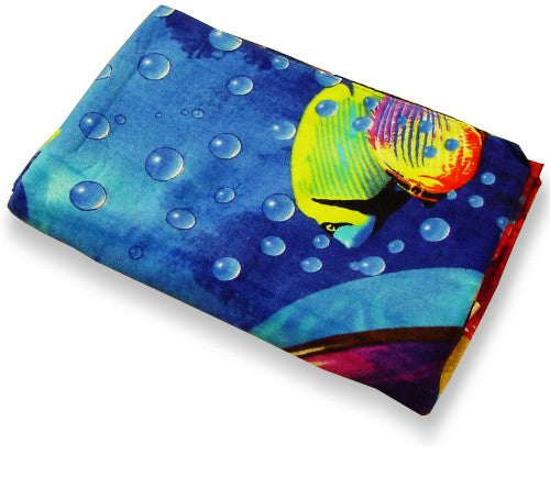 Cool Dolphins Oversized Beach & Bath Towel