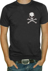 Corner Skull And Crossbones T-Shirt