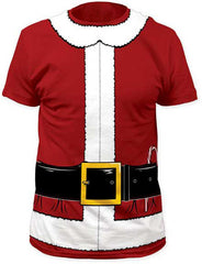 Costume Shirts - Santa Clause Tuxedo Costume Men's T-Shirt