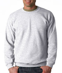 Crew Neck Sweatshirts For Men & Women - Crewneck Sweatshirt (Ash Grey)