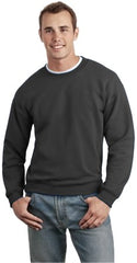 Crew Neck Sweatshirts For Men & Women - Crewneck Sweatshirt (Dark Charcoal Grey)