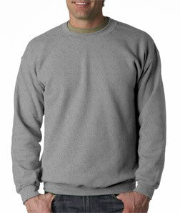 Crew Neck Sweatshirts For Men & Women - Crewneck Sweatshirt (Heather Grey)