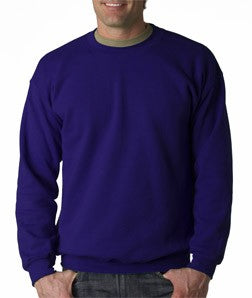 Crew Neck Sweatshirts For Men & Women - Crewneck Sweatshirt (Purple)