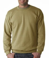 Crew Neck Sweatshirts For Men & Women - Crewneck Sweatshirt (Tan Khaki)