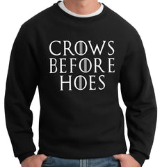 Crows Before Hoes Crewneck Sweatshirt