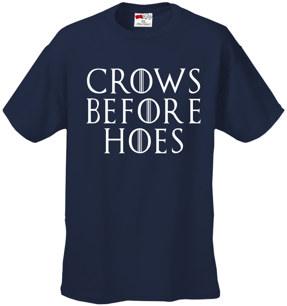 Crows Before Hoes  Men's T-Shirt