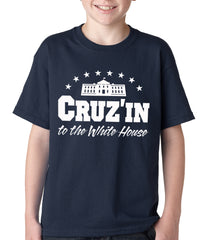 Cruz'in to the Whitehouse Kids T-shirt