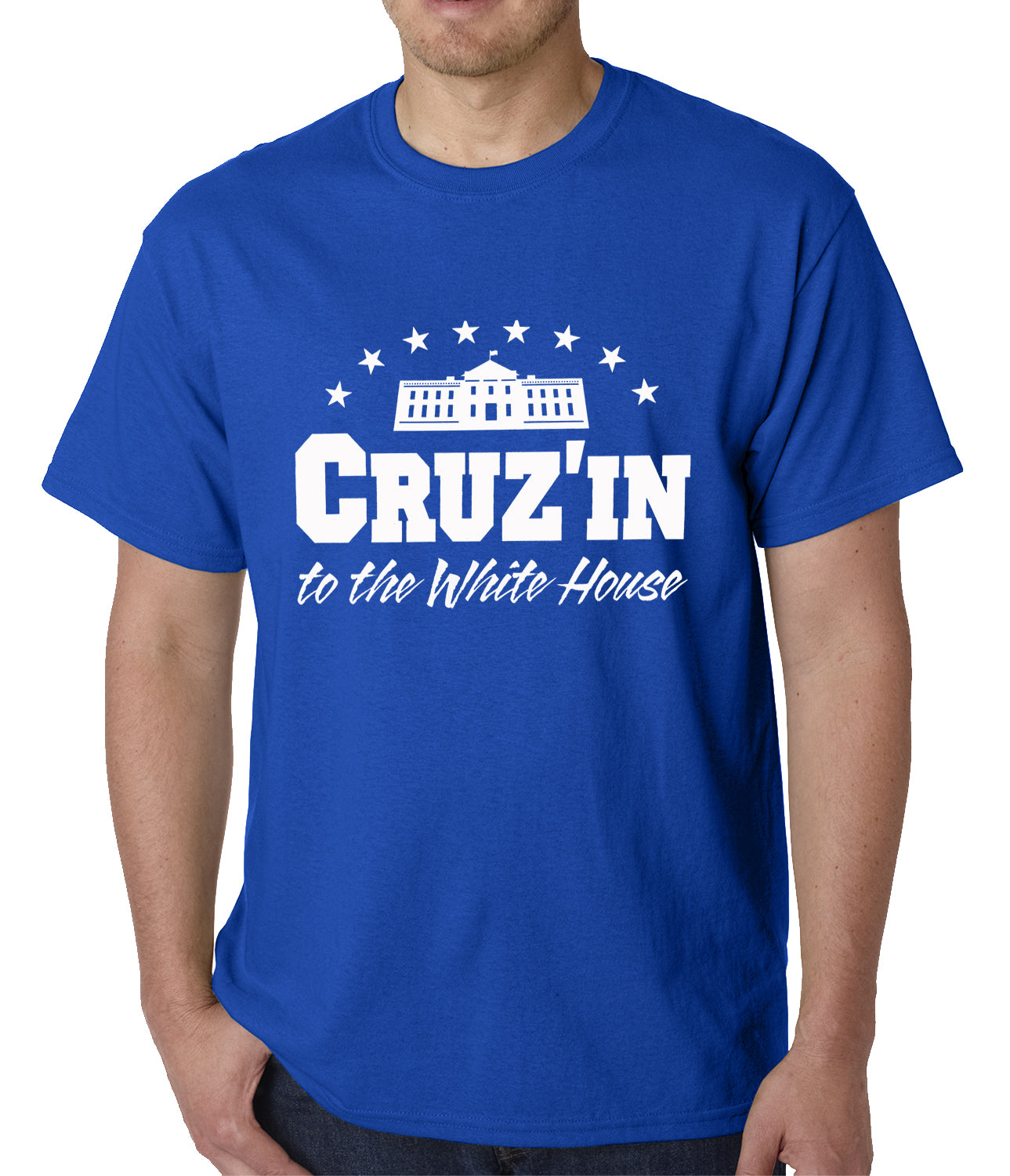 Cruz'in to the Whitehouse Mens T-shirt