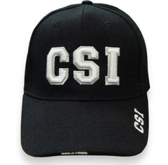 CSI Baseball Hat (Black)