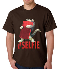Cute #Selfie Kitten Mens T-shirt