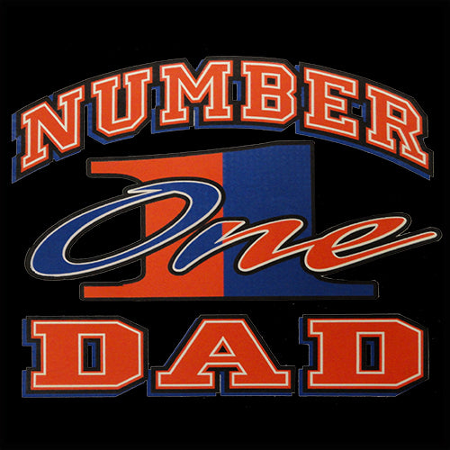 Dad T-Shirt - Number One Dad Men's T-Shirt