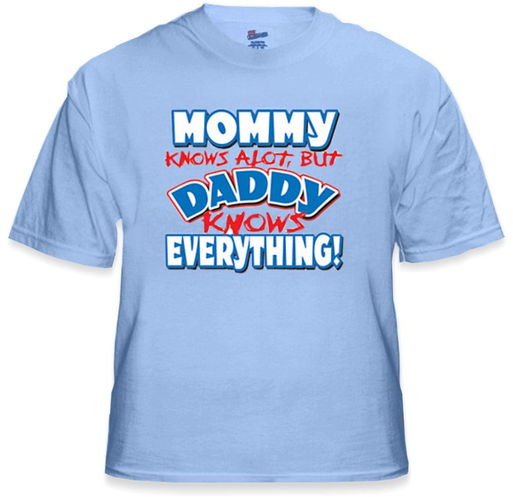 17d703e9 Daddy Knows Everything Kids T-Shirt (Clearance) – Bewild