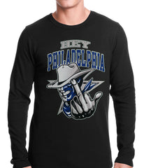 Hey Philadelphia Thermal Long Sleeve Shirt