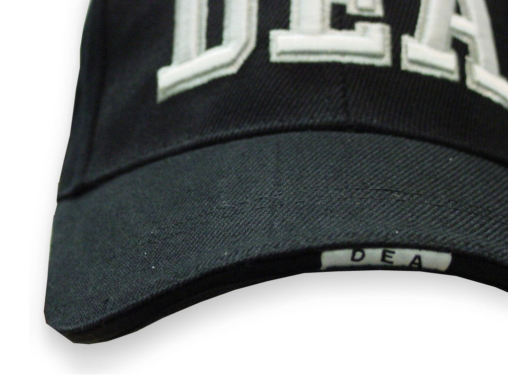 DEA Baseball Hat (Black)