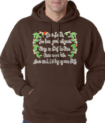 Dear Santa, I've Been Good Adult Hoodie