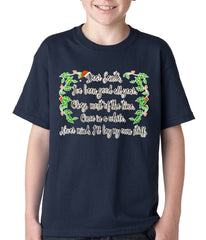 Dear Santa, I've Been Good Kids T-shirt