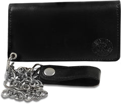 Death Skull 6 inch Biker Chain Wallet