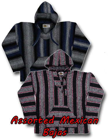 Deluxe Baja - Original Mexican Baja Hoodies In Assorted Colors & Styles