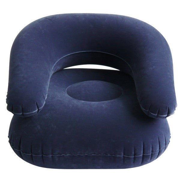 Deluxe Comfort Velvet Inflatable Adult Size Chair