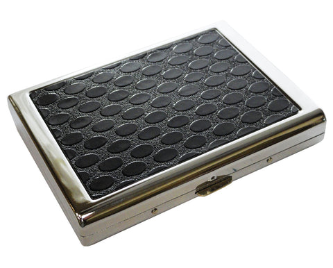 Designer Leather Full-Pack Cigarette Case (For Regular size & 100's)