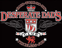 Desperate Dads Club Mens T-Shirt