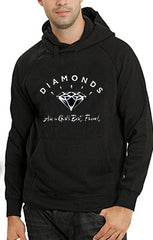 Diamonds Are A Girl's Best Friend Adult Hoodie