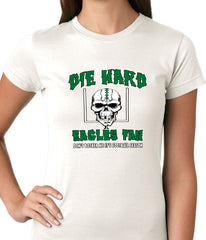 Die Hard Eagles Fan Football Girls T-shirt