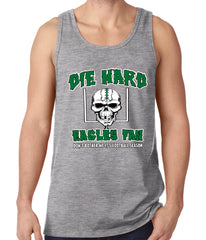 Die Hard Eagles Fan Football Tank Top