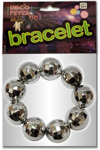 Disco Mirror Ball Bracelet