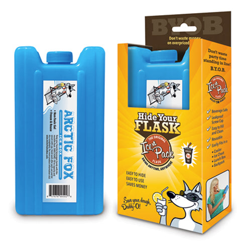 Diversion Ice Pack Alcohol Flask