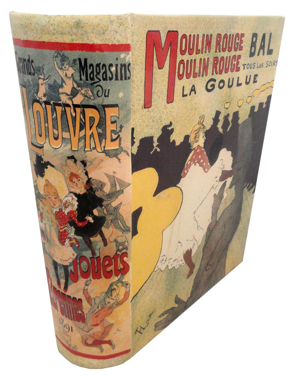 Diversion Safe - Moulin Rouge Book Safe (Large)