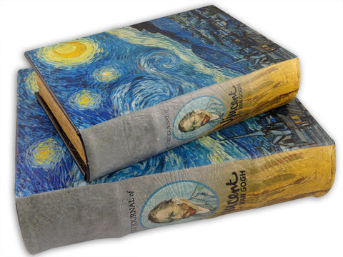 Diversion Safe - Starry Night Lost Journal Book Safe