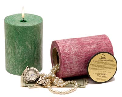 Diversion Safes - Authentic Candle Safe