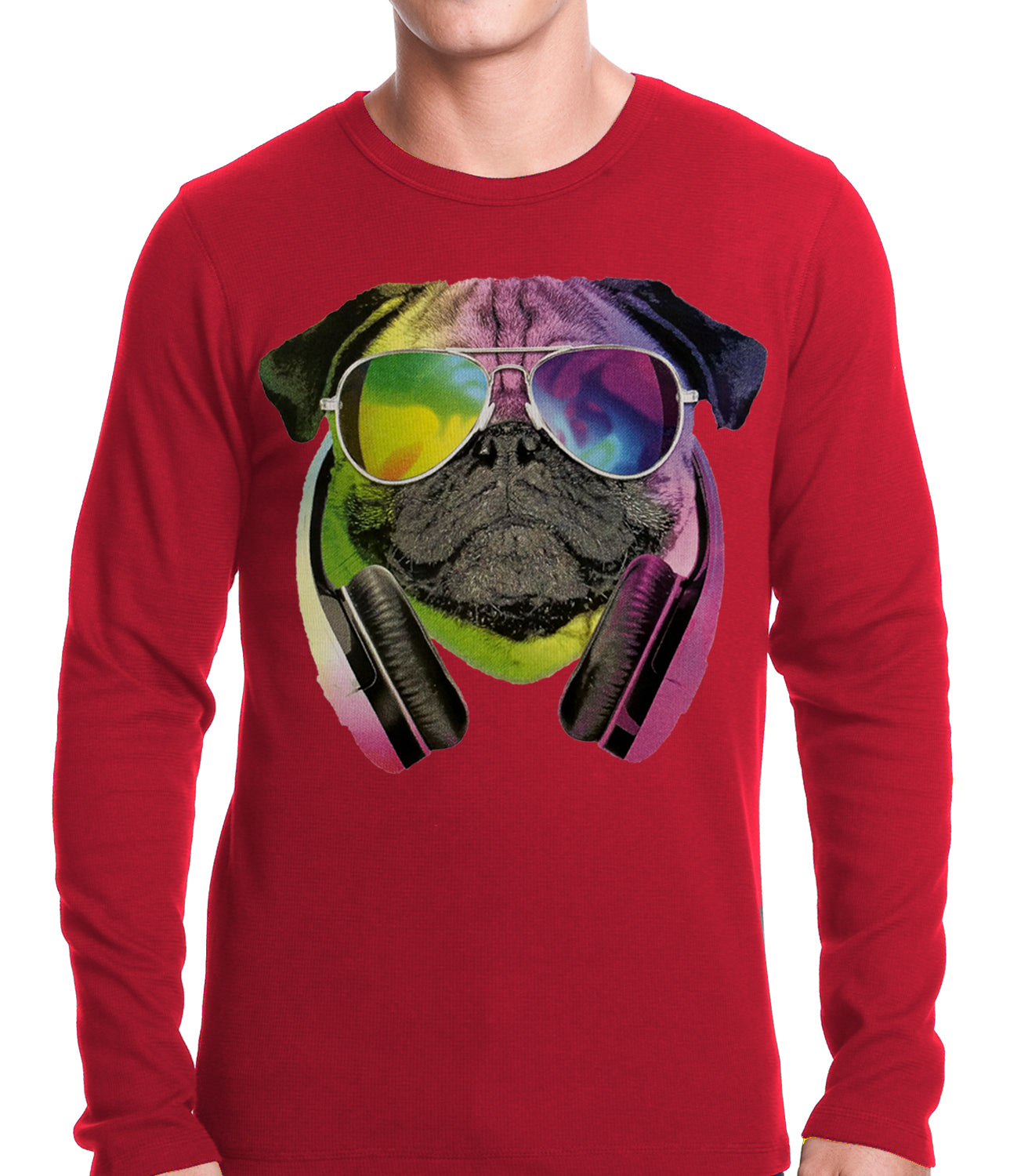 DJ Pug Thermal Shirt