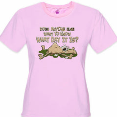 Does Anyone Else Want To Know What Day It Is? Hump Day Girl's T- Shirt