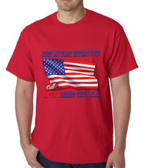 Does My Flag Offend You? Mens T-shirt