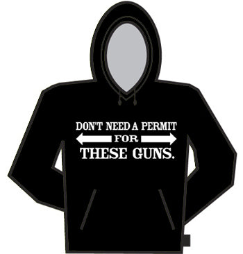 Don't Need A Permit Hoodie