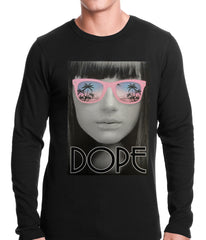 Dope Palm Tree Glasses Thermal Shirt