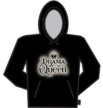 Drama Queen W/ Crown Hoodie