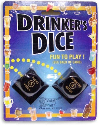Drinkers Dice Game