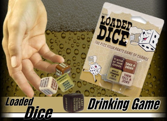 Drinking Games - Loaded Dice Drink & Dare Game