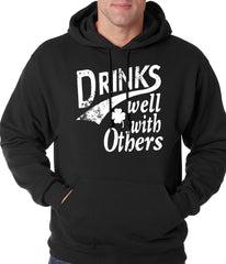 Drinks Well With Other Irish St. Patrick's Day Hoodie