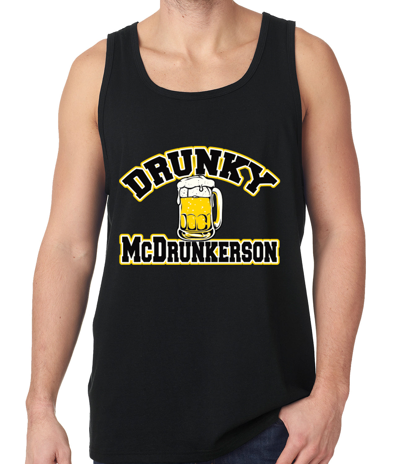 Drunky McDrunkerson Funny Tank Top